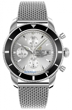 Breitling Superocean Heritage Chronograph Mens watch, model number - a1332024/g698-ss, discount price of £3,760.00 from The Watch Source