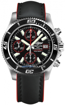 Breitling Superocean Chronograph II Mens watch, model number - a1334102/ba81-1lts, discount price of £3,730.00 from The Watch Source