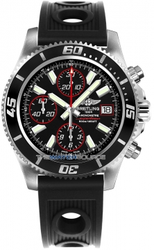 Breitling Superocean Chronograph II Mens watch, model number - a1334102/ba81-1or, discount price of £3,900.00 from The Watch Source