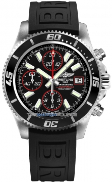Breitling Superocean Chronograph II Mens watch, model number - a1334102/ba81-1pro3t, discount price of £3,700.00 from The Watch Source