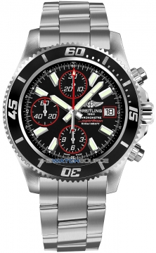 Breitling Superocean Chronograph II Mens watch, model number - a1334102/ba81-ss3, discount price of £4,070.00 from The Watch Source