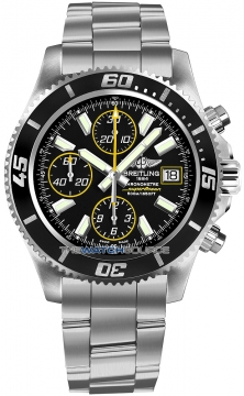 Breitling Superocean Chronograph II Mens watch, model number - a1334102/ba82-ss3, discount price of £4,070.00 from The Watch Source