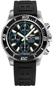 Breitling Superocean Chronograph II Mens watch, model number - a1334102/ba83-1pro3t, discount price of £3,700.00 from The Watch Source