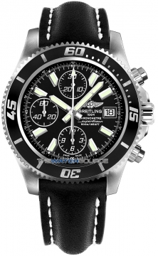 Breitling Superocean Chronograph II Mens watch, model number - a1334102/ba84-1lt, discount price of £3,720.00 from The Watch Source