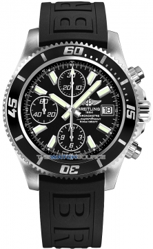 Breitling Superocean Chronograph II Mens watch, model number - a1334102/ba84-1pro3d, discount price of £3,900.00 from The Watch Source