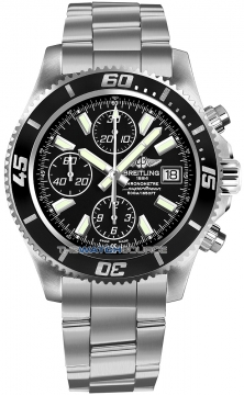 Breitling Superocean Chronograph II Mens watch, model number - a1334102/ba84-ss3, discount price of £4,070.00 from The Watch Source