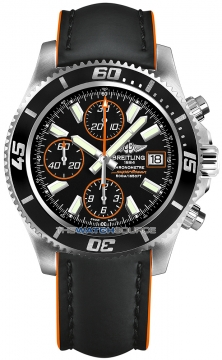 Breitling Superocean Chronograph II Mens watch, model number - a1334102/ba85-1lts, discount price of £3,730.00 from The Watch Source