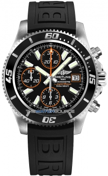 Breitling Superocean Chronograph II Mens watch, model number - a1334102/ba85-1pro3d, discount price of £3,900.00 from The Watch Source