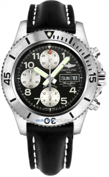 Breitling Superocean Chronograph Steelfish 44 Mens watch, model number - a13341c3/bd19-1lt, discount price of £3,870.00 from The Watch Source