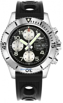 Breitling Superocean Chronograph Steelfish 44 Mens watch, model number - a13341c3/bd19-1or, discount price of £4,020.00 from The Watch Source