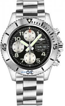 Breitling Superocean Chronograph Steelfish 44 Mens watch, model number - a13341c3/bd19-ss, discount price of £4,160.00 from The Watch Source