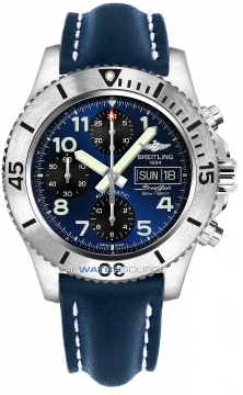 Breitling Superocean Chronograph Steelfish 44 Mens watch, model number - a13341c3/c893-3ld, discount price of £4,030.00 from The Watch Source
