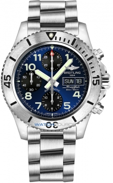 Breitling Superocean Chronograph Steelfish 44 Mens watch, model number - a13341c3/c893-ss, discount price of £4,170.00 from The Watch Source