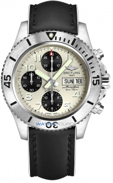 Breitling Superocean Chronograph Steelfish 44 Mens watch, model number - a13341c3/g782-1lts, discount price of £3,870.00 from The Watch Source