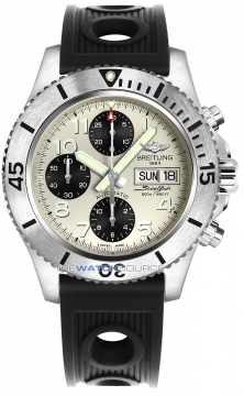 Breitling Superocean Chronograph Steelfish 44 Mens watch, model number - a13341c3/g782-1or, discount price of £4,020.00 from The Watch Source