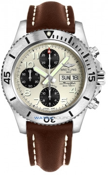 Breitling Superocean Chronograph Steelfish 44 Mens watch, model number - a13341c3/g782-2ld, discount price of £4,030.00 from The Watch Source