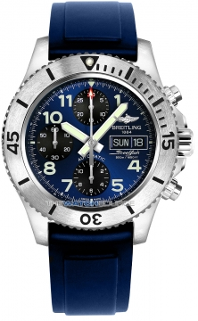 Breitling Superocean Chronograph Steelfish 44 Mens watch, model number - a13341c3/c893-3pro2d, discount price of £4,030.00 from The Watch Source