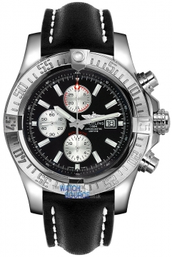 Breitling Super Avenger II Mens watch, model number - a1337111/bc29-1lt, discount price of £3,440.00 from The Watch Source