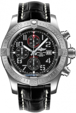 Breitling Super Avenger II Mens watch, model number - a1337111/bc28-1ct, discount price of £3,680.00 from The Watch Source