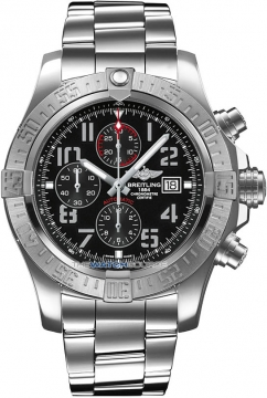 Breitling Super Avenger II Mens watch, model number - a1337111/bc28-ss, discount price of £3,690.00 from The Watch Source