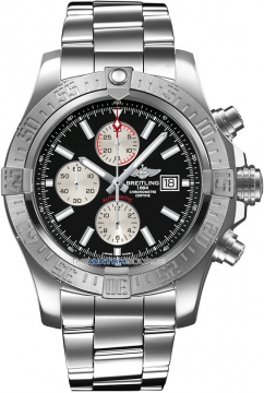 Breitling Super Avenger II Mens watch, model number - a1337111/bc29-ss, discount price of £3,690.00 from The Watch Source
