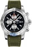 Breitling Super Avenger II a1337111/bc29/105w watch