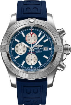 Breitling Super Avenger II Mens watch, model number - a1337111/c871-3pro3t, discount price of £3,390.00 from The Watch Source
