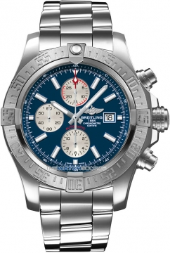 Breitling Super Avenger II Mens watch, model number - a1337111/c871-ss, discount price of £3,690.00 from The Watch Source