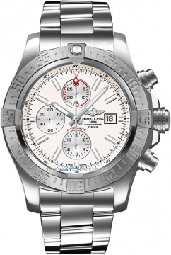 Breitling Super Avenger II Mens watch, model number - a1337111/g779-ss, discount price of £4,071.00 from The Watch Source