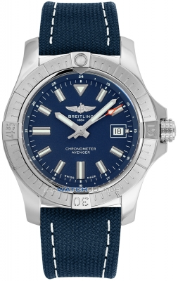 Buy this new Breitling Avenger Automatic 43 a17318101c1x1 mens watch for the discount price of £2,422.50. UK Retailer.