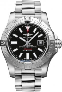 Breitling Avenger II Seawolf Mens watch, model number - a1733110/bc30-ss, discount price of £2,760.00 from The Watch Source