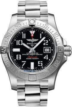 Breitling Avenger II Seawolf Mens watch, model number - a1733110/bc31-ss, discount price of £2,760.00 from The Watch Source