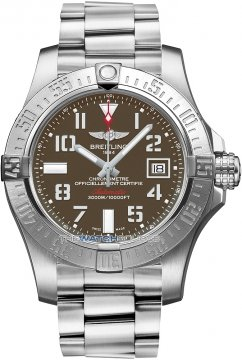 Breitling Avenger II Seawolf Mens watch, model number - a1733110/f563-ss, discount price of £2,760.00 from The Watch Source