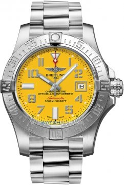 Breitling Avenger II Seawolf Mens watch, model number - a1733110/i519-ss, discount price of £2,760.00 from The Watch Source