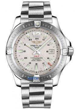 Breitling Colt Automatic 44mm Mens watch, model number - a1738811/g791-ss, discount price of £2,350.00 from The Watch Source