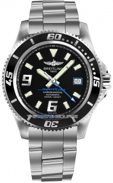 Breitling Superocean 44 Mens watch, model number - a1739102/ba79-ss3, discount price of £2,445.00 from The Watch Source