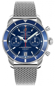 Breitling Superocean Heritage Chronograph Mens watch, model number - a2337016/c856-ss, discount price of £3,990.00 from The Watch Source
