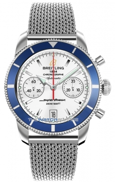 Breitling Superocean Heritage Chronograph Mens watch, model number - a2337016/g753-ss, discount price of £3,990.00 from The Watch Source