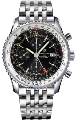 Breitling Navitimer 1 Chronograph GMT 46 a24322121b2a1 watch