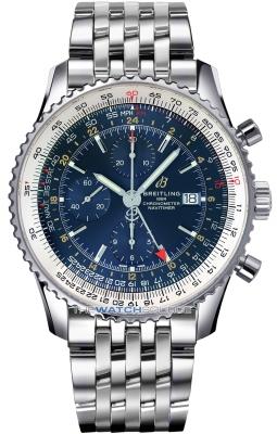 Breitling Navitimer 1 Chronograph GMT 46 a24322121c2a1 watch