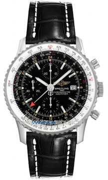 Breitling Navitimer World Mens watch, model number - a2432212/b726-1ct, discount price of £4,802.00 from The Watch Source