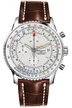 Breitling Navitimer World Mens watch, model number - a2432212/g571-2cd, discount price of £4,964.00 from The Watch Source