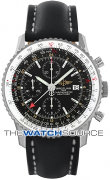 Breitling Navitimer World Mens watch, model number - a2432212/b726-1LT, discount price of £4,170.00 from The Watch Source