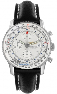 Breitling Navitimer World Mens watch, model number - a2432212/g571-1lt, discount price of £4,170.00 from The Watch Source
