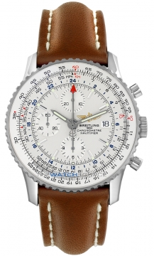 Breitling Navitimer World Mens watch, model number - a2432212/g571-2lt, discount price of £4,496.00 from The Watch Source