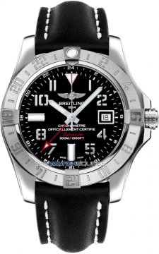 Breitling Avenger II GMT Mens watch, model number - a3239011/bc34-1ld, discount price of £2,660.00 from The Watch Source