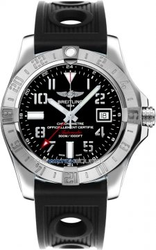Breitling Avenger II GMT Mens watch, model number - a3239011/bc34-1or, discount price of £2,846.00 from The Watch Source