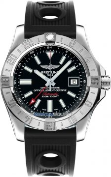 Breitling Avenger II GMT Mens watch, model number - a3239011/bc35-1or, discount price of £2,846.00 from The Watch Source