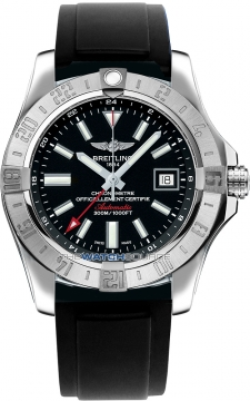 Breitling Avenger II GMT Mens watch, model number - a3239011/bc35-1pro2t, discount price of £2,550.00 from The Watch Source