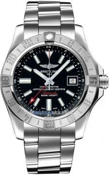 Breitling Avenger II GMT Mens watch, model number - a3239011/bc35-ss3, discount price of £3,004.00 from The Watch Source
